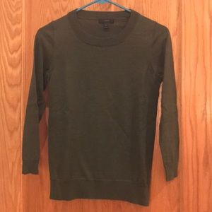 J Crew Tippi sweater - dark green